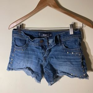 Hollister midi short 3 studded